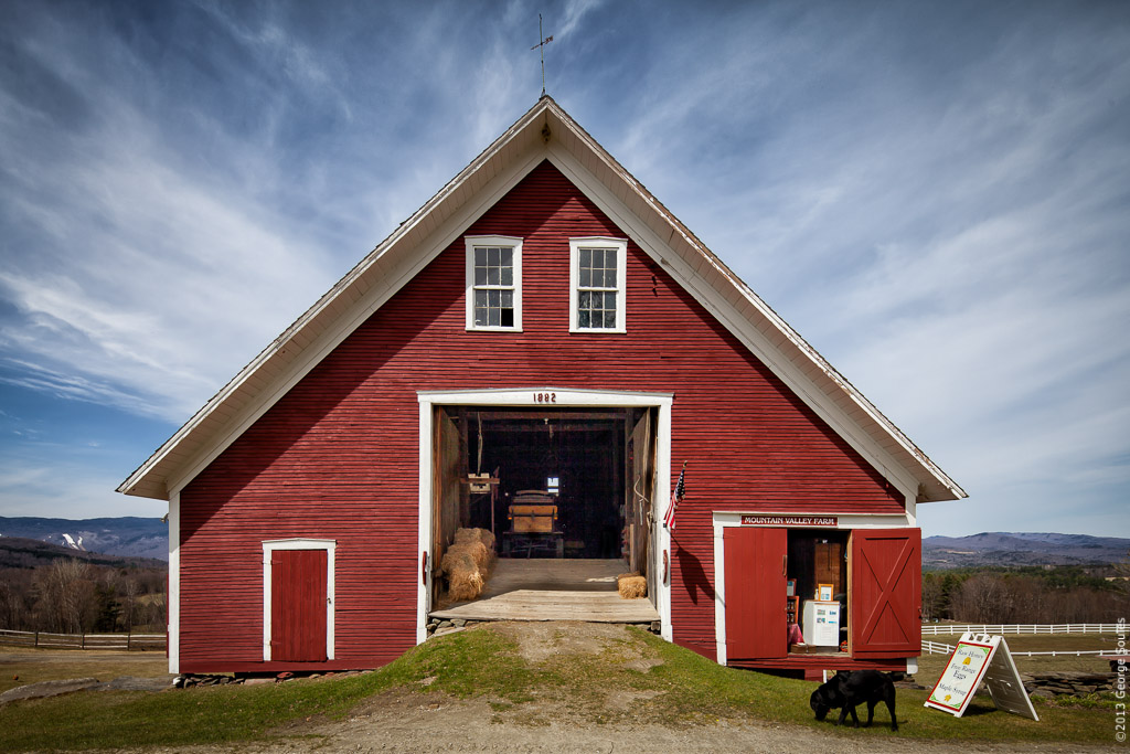 Farm Barn george soules photography » vermont