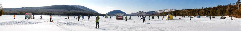 Eagle Lake Ice Fishing