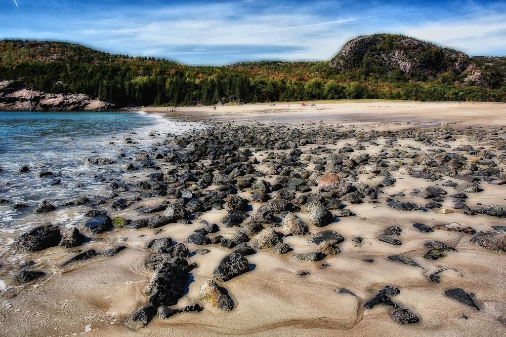 Sand Beach and Beehive